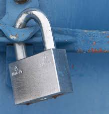 Image Showing a Lock on a Truck - Cargo Security is Still a Major Supply Chain Issue