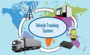 This Diagram Shows GPS Cargo Tracking in Trucking