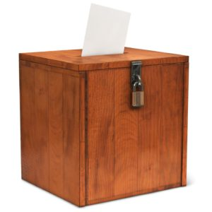 Optimal Election Security Relies on Many Elements, Including Ballot Box Seals & Locks